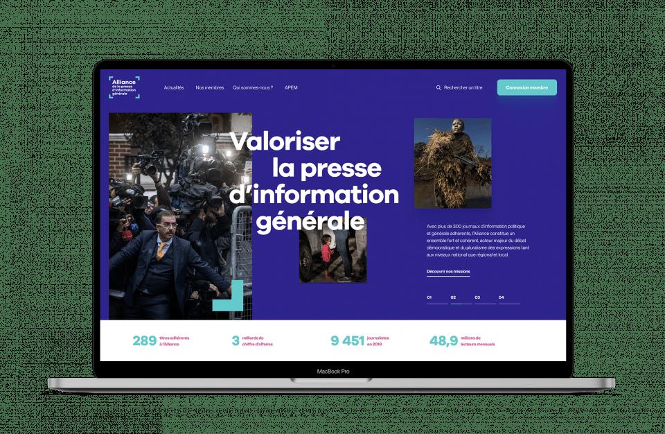 site web alliance