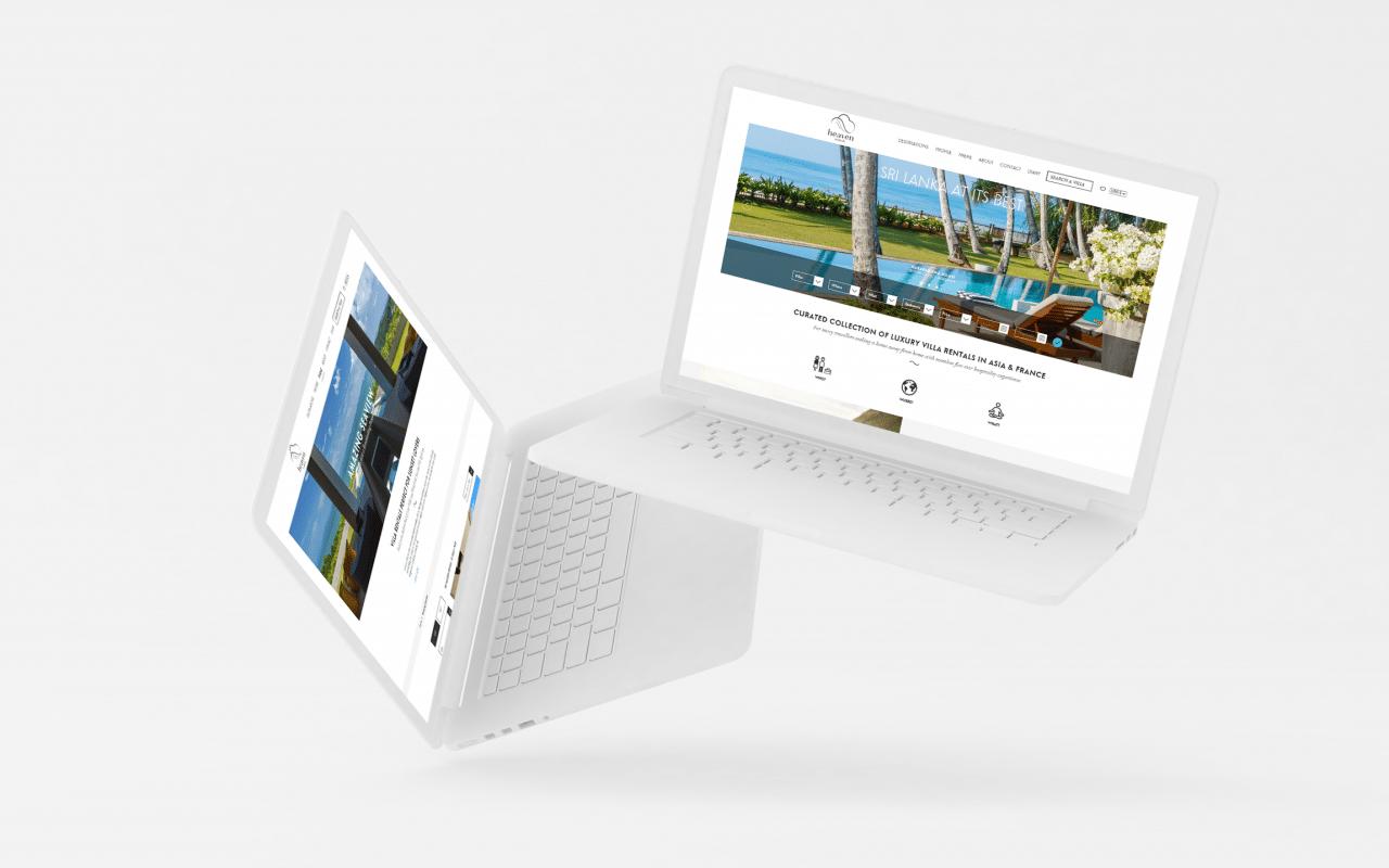 heaven rentals site web