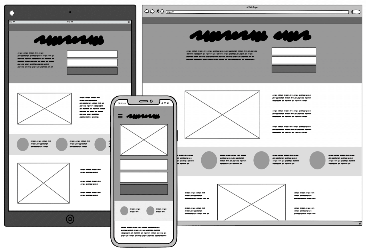 exemple wireframe