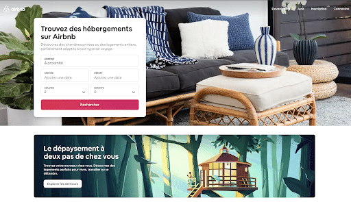 Exemple airbnb